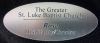 Click this Image to visit the Plastic Engraved Name Badges category.