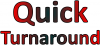 Click this Image to visit the   QUICK Turnaround Awards category.