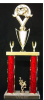 2-Post Trophy Car/Automobile Trophy Awards