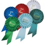 Rosette  Ribbon Equestrian Trophy Awards