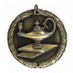 Lamp of Knowledge Wreath Medal Awards